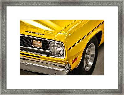 1970 Plymouth Duster 340 Framed Print by Gordon Dean II