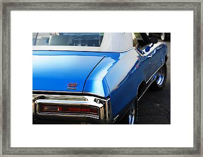 Framed Print featuring the photograph 1971 Buick Gs by Gordon Dean II
