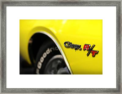 1971 Dodge Charger Rt Framed Print by Gordon Dean II