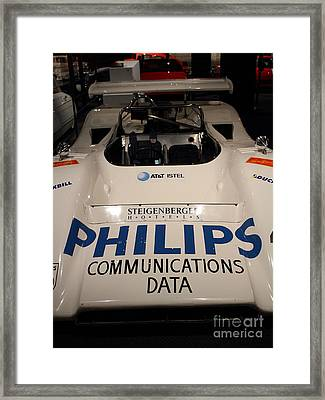 1971 Mclaren M8e Racecar - 7d17289 Framed Print by Wingsdomain Art and Photography