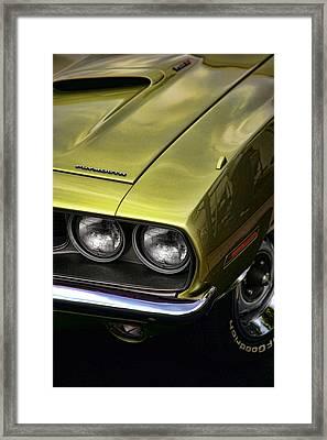 1971 Plymouth Barracuda 360 Framed Print by Gordon Dean II