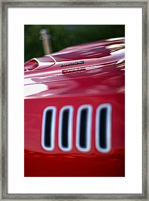 1971 Plymouth 'cuda 340 Framed Print by Gordon Dean II