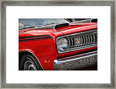 1971 Plymouth Duster 340 Framed Print
