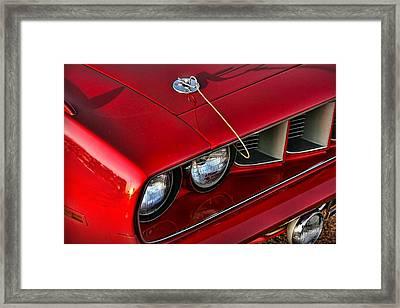 1971 Plymouth Hemi 'cuda Framed Print by Gordon Dean II