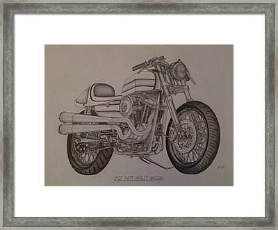1973 Harley-davidson Xrtt Framed Print