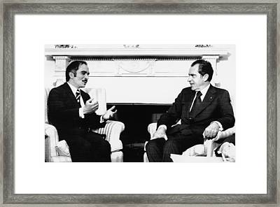 1974 Us Presidency, International Framed Print by Everett