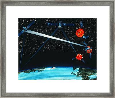 1984 Military Artists Concept Framed Print by Everett