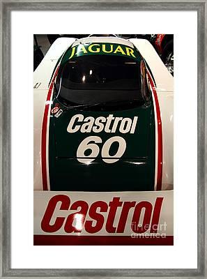 1988 Jaguar Xjr-9 Race Car Framed Print by Wingsdomain Art and Photography