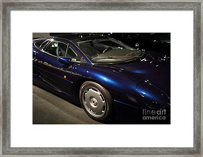 1992 Jaguar Xj220 - 7d17250 Framed Print by Wingsdomain Art and Photography