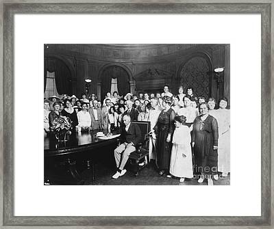 19th Amendment, 1919 Framed Print