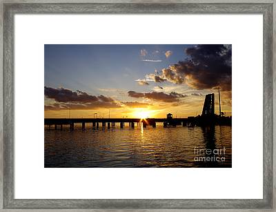 1st Day's End Framed Print