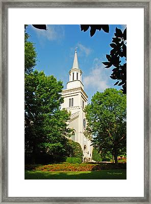 1st Presbyterian Church Framed Print by Kay Lovingood