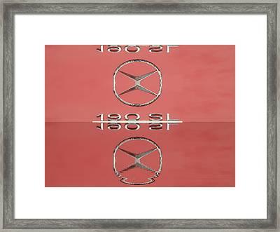 Old Mercede-benz Logos Framed Print