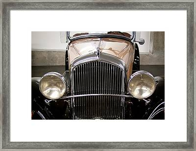 1931 Plymouth Pa Roadster Framed Print by David Patterson