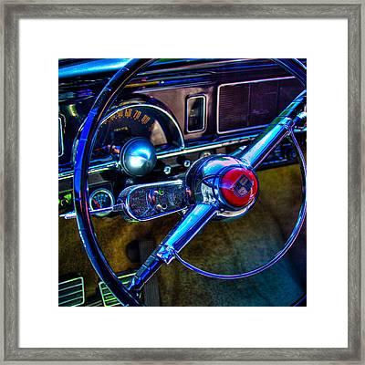 1950 Studebaker Champion Framed Print by David Patterson