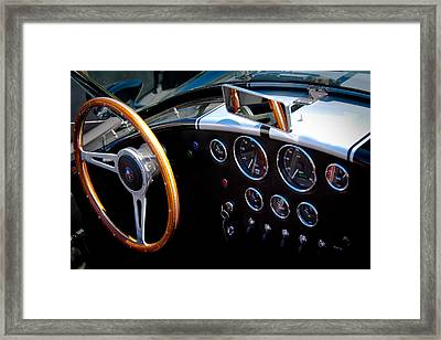 1966 Ford Ac Shelby Cobra 427 Framed Print by David Patterson