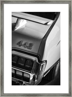 1972 Oldsmobile Cutlass 442 Framed Print by Gordon Dean II