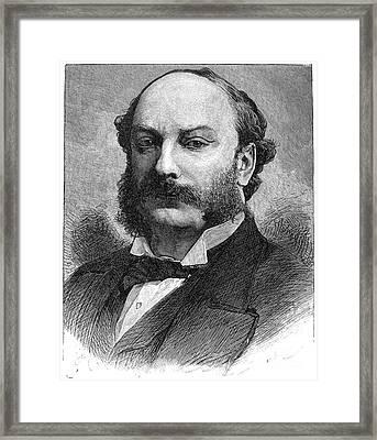 3rd Baron Rayleigh Framed Print by Granger