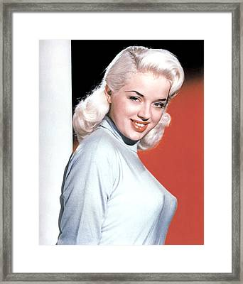 A Kid For Two Farthings, Diana Dors Framed Print