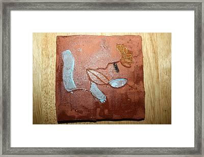 Abandon - Tile Framed Print