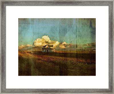 Abandoned Framed Print by Bonnie Bruno