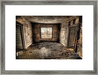 Abandoned Framed Print by Miguel Celis