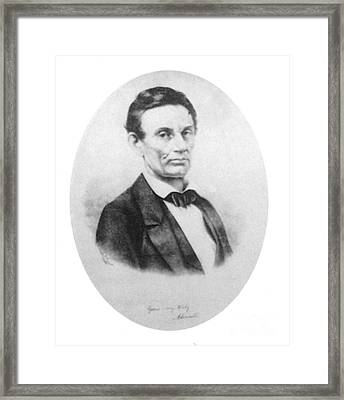 Abraham Lincoln, 16th American President Framed Print