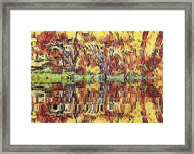 Abstract Artwork Framed Print
