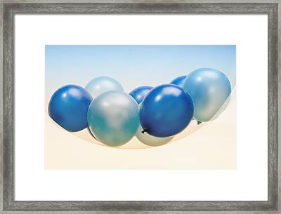 Abstract Balloon Framed Print by Setsiri Silapasuwanchai