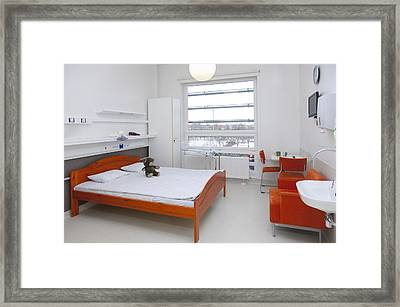 Accommodation For Patients And Families Framed Print by Jaak Nilson