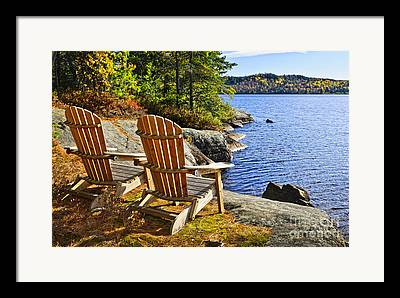 Lounge Chairs Framed Prints