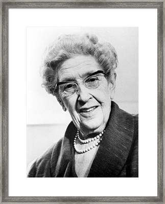 Agatha Christie 1890-1976 British Framed Print by Everett