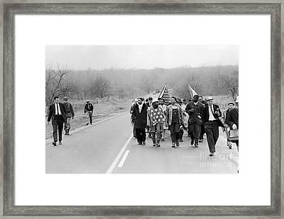 Alabama: Civil Rights Framed Print by Granger