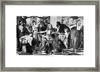 Alaric I (370?-410) Framed Print by Granger