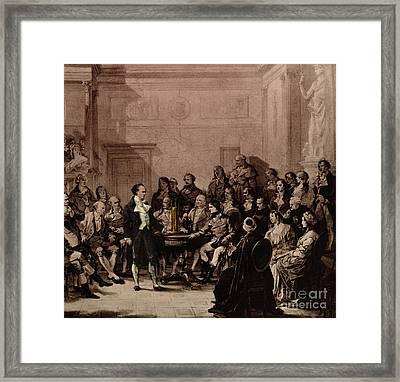 Alessandro Volta, Italian Physicist Framed Print