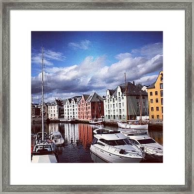 Alesund - Norway Framed Print