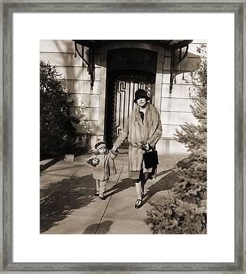 Alice Roosevelt Longworth 1884-1980 Framed Print by Everett