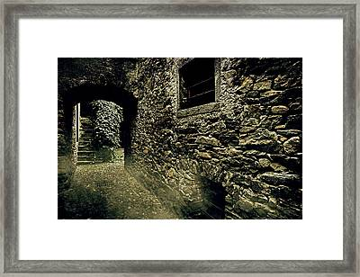 Alley Framed Print by Joana Kruse