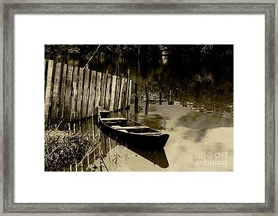Amazon River Framed Print by Rosane Sanchez