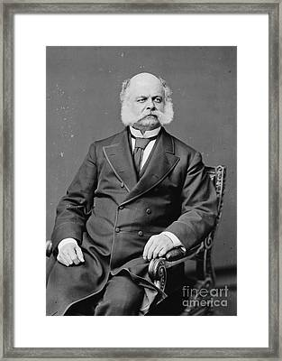 Ambrose Burnside, Union General Framed Print by Photo Researchers