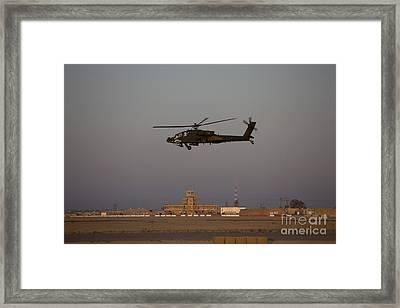 An Ah-64d Apache Longbow Block IIi Framed Print