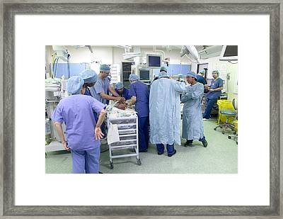 Anaesthesia Framed Print