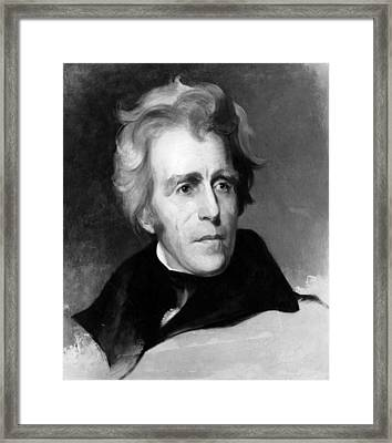 Andrew Jackson 1767-1845, U.s Framed Print