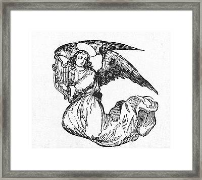 Angel Framed Print by Granger