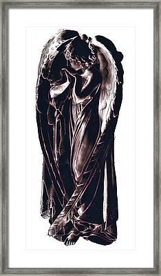 Angel Framed Print by J erik Leiff