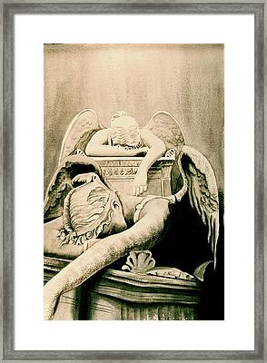 Angel Of Grief Framed Print