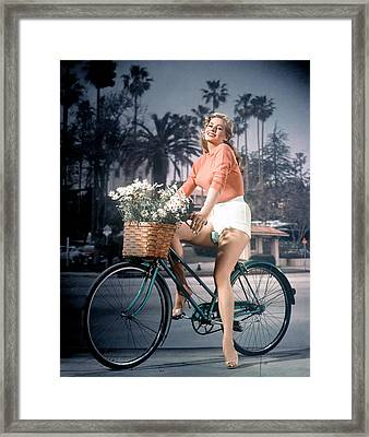 Anita Ekberg, 1950s Framed Print by Everett