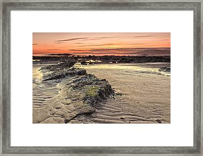 Ardrossan Sunset Framed Print by Fiona Messenger