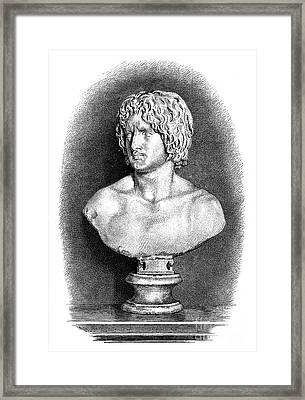 Arminius (c17 B.c.-21 A.d.) Framed Print by Granger