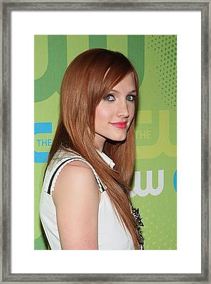 Ashlee Simpson-wentz At Arrivals Framed Print